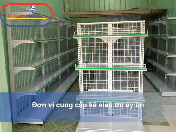 Đơn vị cung cấp kệ siêu thị uy tín - Kệ Siêu thị Bắc Ninh