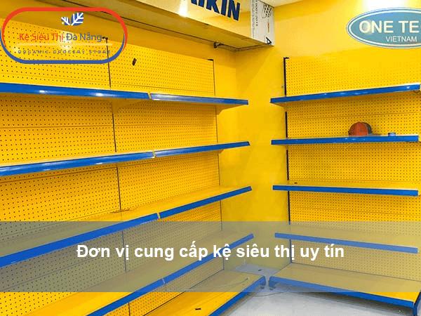 Đơn vị cung cấp kệ siêu thị uy tín - One tech Việt Nam