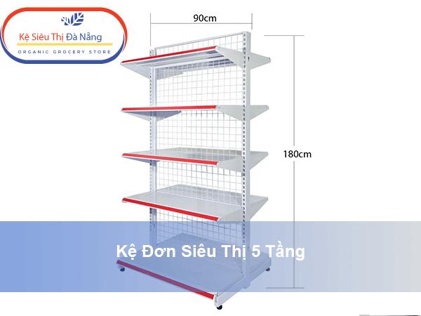 Thông số và tính năng kỹ thuật Kệ Đơn 5 Tầng