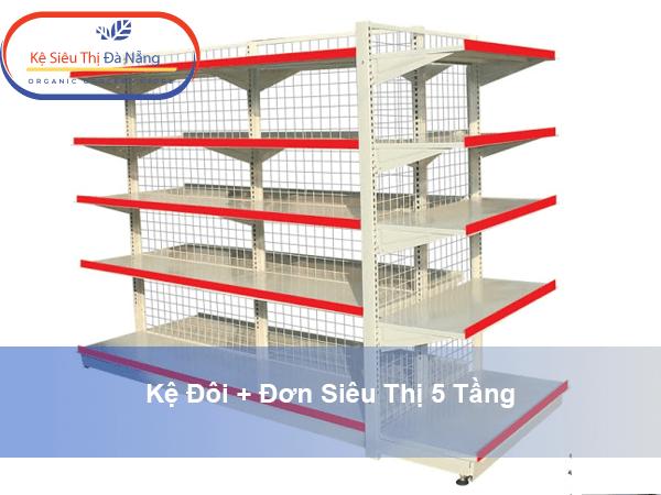 Ưu điểm của kệ siêu thị 5 tầng