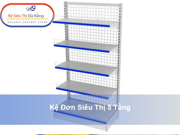 Thông số kỹ thuật của kệ siêu thị 5 tầng